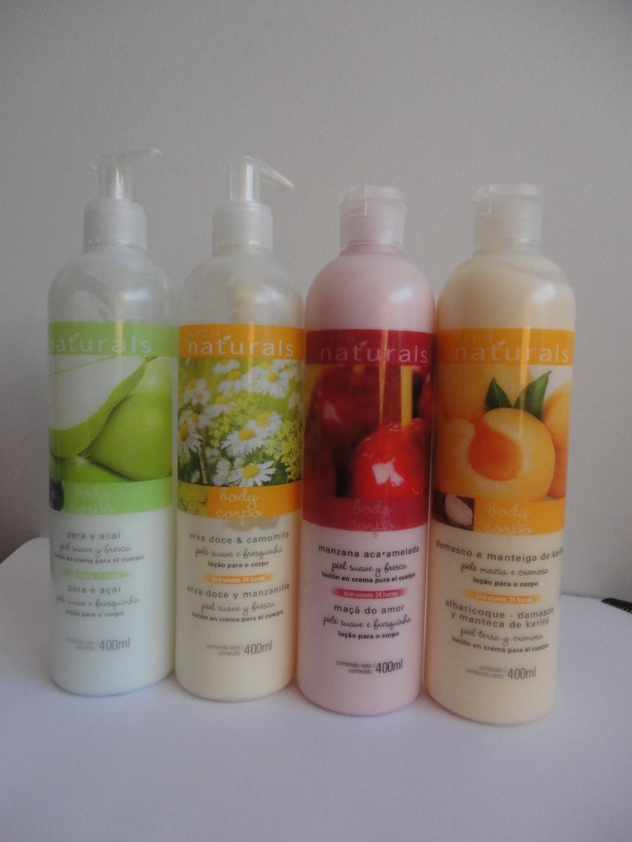 Hidratantes Avon Naturals