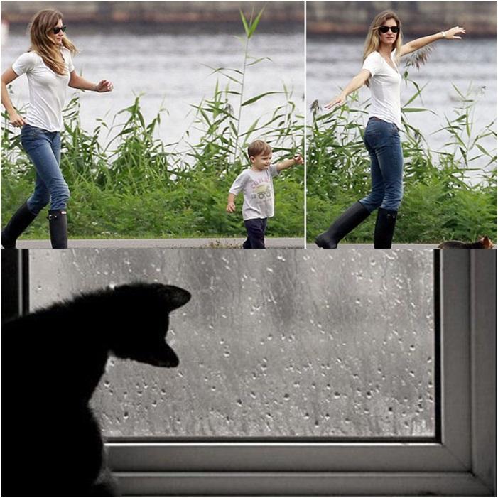 galocha chuva
