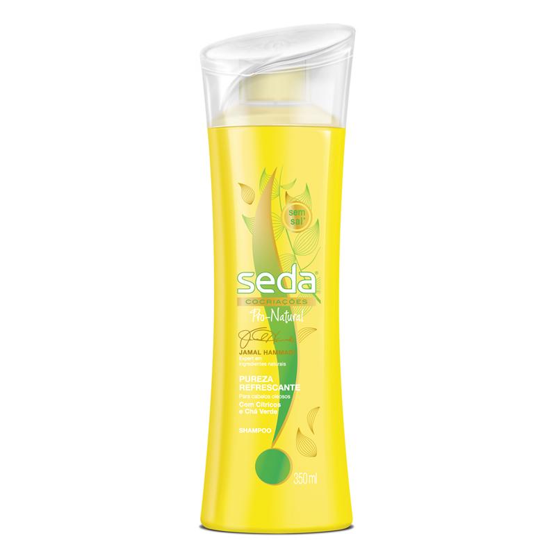 Seda Limpeza Profunda: com cítricos e chá verde