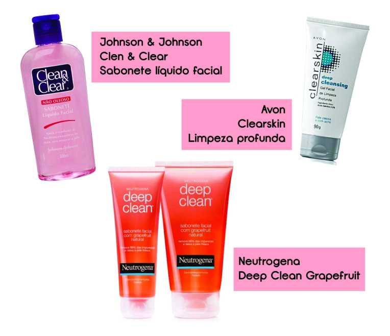 O sabonete próprio para pele oleosa retira toda a oleosidade e mantém a pele sem gordura por muito mais tempo