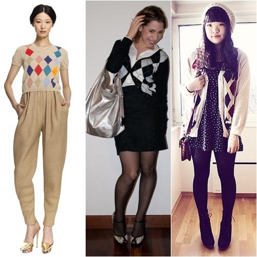 Top Argyle: a estampa fashion do colete do vovô | Stalker de Moda DZ45