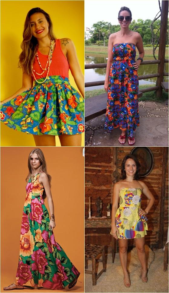Vestidos modernos de sao joao