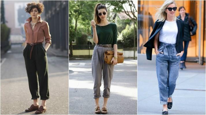 E não é que essa moda pegou mesmo, e agora mais do que nunca mulheres do  mundo inteiro desfilam com seus sapatos oxfords, calças de alfaiataria,  blazers, ... 69cbe632ee